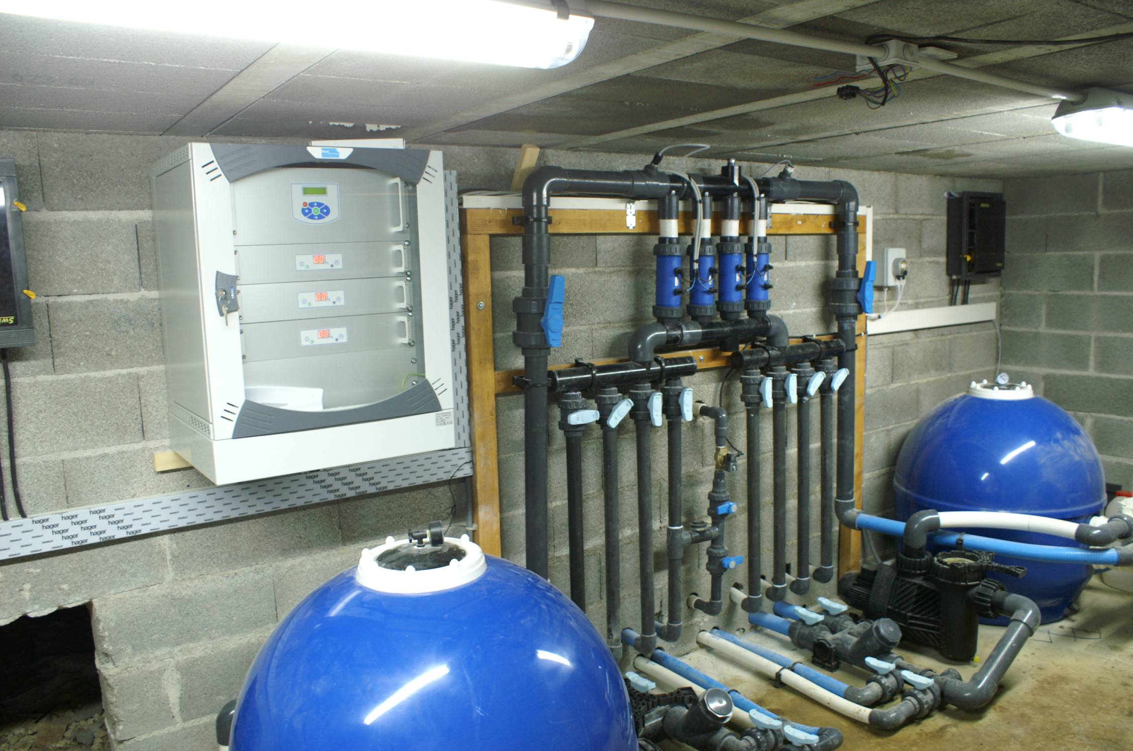 Installation groupe de filtration piscine hors sol for Installation piscine
