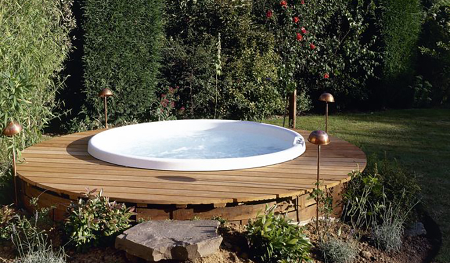 Amenagement piscine hors sol photo for Piscine hors sol a enterrer